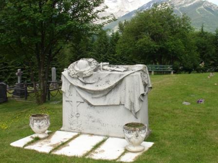 Memorial– War Memorial in Fernie, BC's cemetery