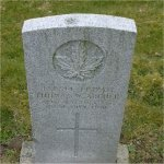 """Grave Marker– Grave of 430514 Pvt. Thomas Walter Archer who served with both the 29th & 48th Battn. C.E.F.  Born in Brighton England on Aug. 17th 1894, he enlisted into the 29th Battn. C.E.F. at Victoria BC on March 12th 1915, listing prior military service with the 50th Gordon Highlanders. He listed his occupation as """"Carpenter"""" He was later sent to the 48th Battn. C.E.F.(Highland Regt)  Thomas died at Vancouver BC on July 20th 1920 at the age of 24. He was laid to rest in the the Mountain View Cemetery of Vancouver BC."""