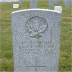 """Grave Marker– Grave of 1037141 Pvt. Basil H. Hertslet who served with the 238th Battn. C.E.F. He was born in the City of Richmond in Surrey England on Sept. 11th 1872.  Husband of Helen Hertslet. He first enlisted into the C.E.F. at Vancouver BC on May 18th 1916 but was later discharged in Aug. of 1917 due to an Gastric ulcer.  He enlisted once again on March 22nd 1918 and listed his occupation as """"Farmer""""  Basil died on April 28th 1918 at the age of 55 and was laid to rest in the Mountain View cemetery of Vancouver BC"""