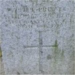 """Grave Marker– Grave of 79789 Pvt. Thomas Tanner who served with the 31st Battn. C.E.F. Born in Wiltshire England on Sept. 16th 1874. (Real D.O.B. Sept. 16 1869) He listed himself as a Widower. Thomas enlisted into the C.E.F. at Calgary Alberta on Nov. 24th 1914 listing his occupation as """"Farmer"""" Thomas died at Vancouver BC on Aug. 26th 1920 at the age of 50.  He was laid to rest in the Mountain View Cemetery of Vancouver BC"""