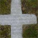 Inscription– Close up of the grave stone of 27733 Pvt. Albert Rodney Thomas is buried in the Mountain View cemetery in Vancouver BC