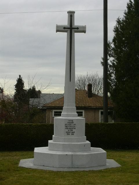 Croix commémorative