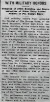 Newspaper clipping– From the Daily Colonist of January 24, 1916. Image taken from web address of https://archive.org/stream/dailycolonist58y64uvic#mode/1up