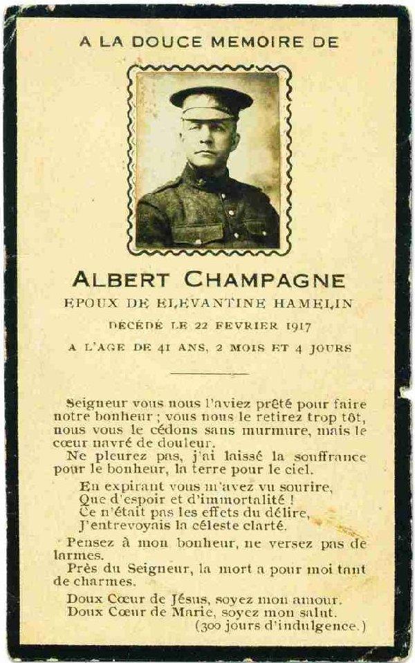 Photo of Albert Champagne
