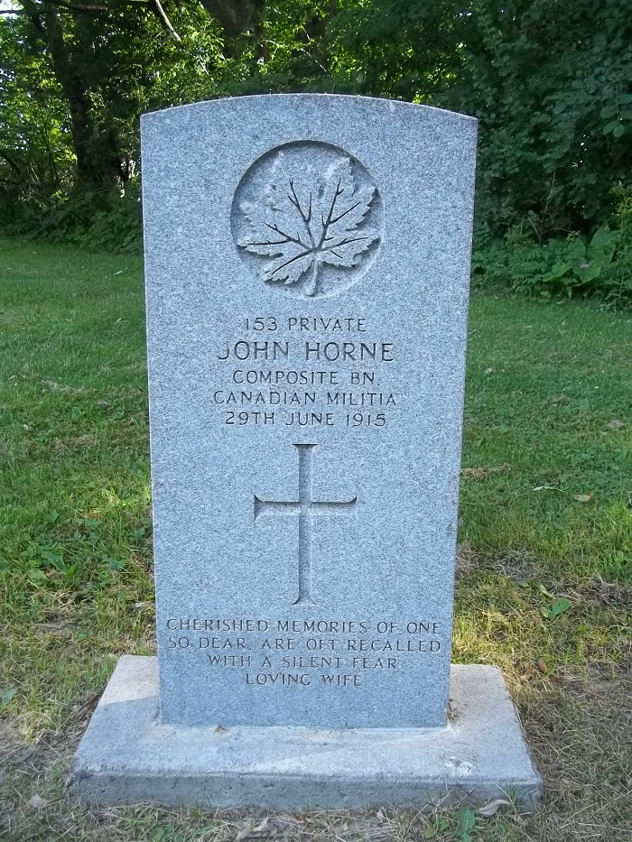Grave Marker– Hawthorn-Dale Cemetery