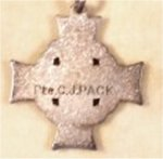 Silver Cross– Back of the Silver Cross given to Clifford's Mother (my Grandmother) on his death in the Great War