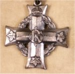 Silver Cross (front)– Silver Cross given to Clifford's Mother (my Grandmother) on his death in the Great War.