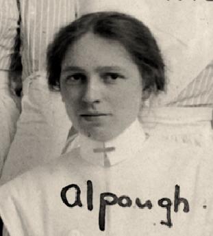 Nursing Sister Agnes Alpaugh 1916