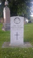 Grave Marker– Danskin, Arthur William 163261 CWGC Headstone in Greenwood Cemetery, Brantford
