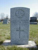 Grave Marker– Milton Evergreen Cemetery CEF Grave Marker (Photo by Richard Laughton)
