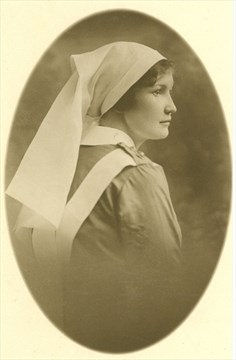 Photo of Alice Trusdale– Photo courtesy of Waterford Heritage & Agricultural Museum.
