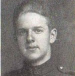Photo of Benjamin Phillips McCormack– Private Benjamin McCormack, as a member of the Trinity Methodist Church in Toronto, was remembered in the Trinity War Book published by the church in 1921 and compiled by Mr. Oliver Hezzelwood.  This church still stands today on Bloor Street just west of Spadina Ave in Toronto, Ontario.