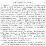 The Runner  p.3– This short story was written by Pte. Benjamin McCormack for the Trinity War Book using the pen name, The Runner. The story appears to reflect his personal wartime experiences.