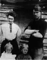 Family Photo– Thomas, Maude, George and Tommy about 1908.