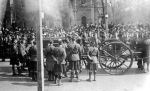 Funeral– Funeral of Capt RC Clifford Toronto, 1915  Photo from the archives of the Regimental Museum of the 48th Highlanders of Canada, Toronto, ON  Submitted by BGen G. Young 15th Battalion Memorial Project Team DILEAS GU BRATH