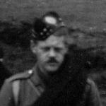 Photo of Robert Darling– Captain RC Darling, Adjutant, BHQ, 15th Battalion CEF (48th Highlanders of Canada). Extracted from a panoramic photograph of the 15th Battalion on parade prior to embarkation from Canada to the UK as part of the 1st Contingent of the Canadian Expeditionary Force.  Photograph from the arhives of the 48th Highlanders Museum, Toronto and submitted by BGen G Young, 15th Battalion Memorial Project team.  Dileas Gu Brath