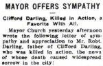 Press Clipping 2– Article dated April 21, 1915.