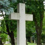Grave Marker– Photo of Captain Darling's grave taken in August 2003.  Mount Pleasant Cemetery, Toronto.