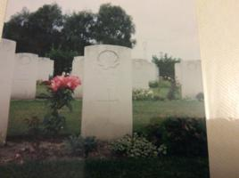 Grave Marker– Pte. A.T. Proudfoot