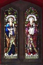 Stained Glass Window– Stained glass window at Grace Church on-the-Hill, Toronto, to honour E. E. Price.