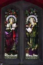 Stained Glass Window (2)– Stained glass window at Grace Church on-the-Hill, Toronto, to honour E. E. Price.