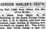 Newspaper Clipping– Toronto Evening Telegram - September 15th, 1917.