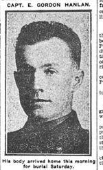 Newspaper Clipping– Toronto Evening Telegram - September 12th, 1917
