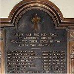 St Andrews Presbyterian plaque