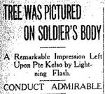Newspaper Clipping– From the Toronto Star for 5 June 1916.