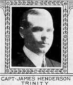 Photo of James Henderson– From: The Varsity Magazine Supplement published by The Students Administrative Council, University of Toronto 1918.  