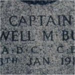 Detail of Grave Marker