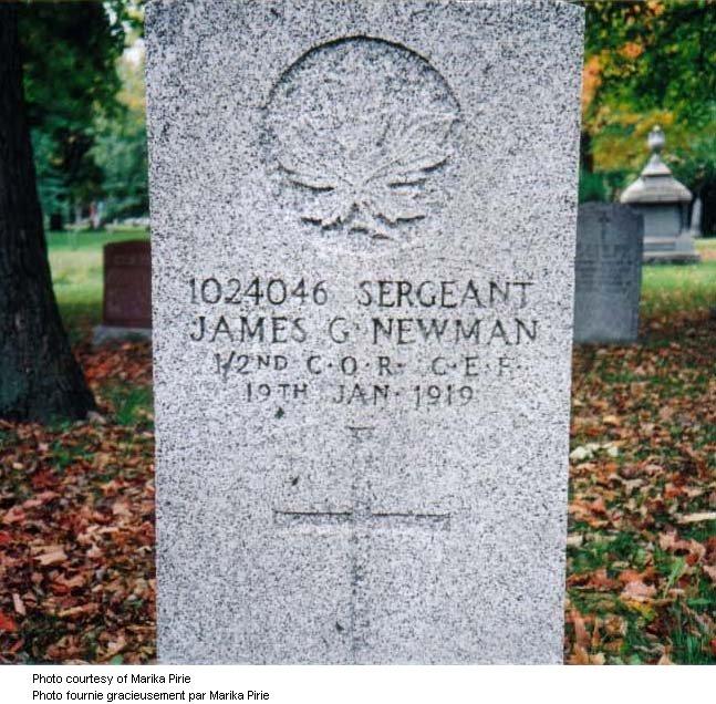 Grave marker inscription