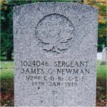 Grave marker– St. James Cemetery is located on Parliament Street in Toronto, just before Bloor Street.