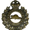 Cap badge– Cap badge Canadian Engineers. Driver Casey originally enlisted in the 92nd Bn but was sent to the Canadian Engineers  as a reinforcement.  Submitted by Capt (ret'd) V. Goldman,  15th Bn Memorial Project Team.  DILEAS GU BRATH