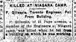 Coupure de presse (2) – Du Toronto Star du 3 août 1915.
