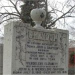Memorial Headstone– Graydon family memorial at St. John's (Norway) Cemetery in Toronto, Ontario.