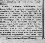 Newspaper Clipping– Col. 2 from Calgary Herald