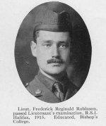 Photo of Frederick Reginald Robinson