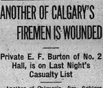 coupre de presse – Calgary Herald 4 juin 1915.