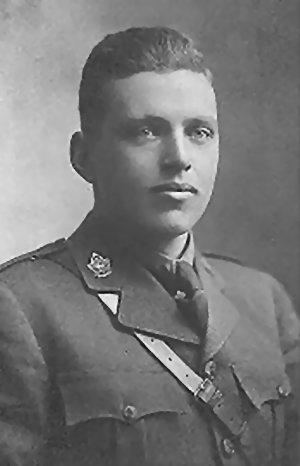 Le capitaine Hervé Murray Grant, M.C.