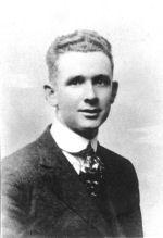 Photo of Herbert W Hall– Prior to going overseas.