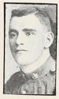 Photo of HERBERT LLOYD HALLAM– Photo from the National Memorial Album of Canadian Heroes c.1919. Submitted for the project, Operation: Picture Me.