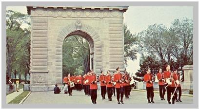 Memorial– Memorial arch, Royal Military College, Kingston Ontario