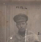 Photo of John Emerson Hill– This was taken from a photo of J. Hill, Bud Sisley and C Purdon(My Granfather)my Granfather was the only one to survive the war.Taken at Ypres in November 1915.