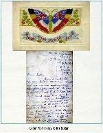 Lettre – Une lettre que Henry avait envoyé a sa soeur de la France en 1917