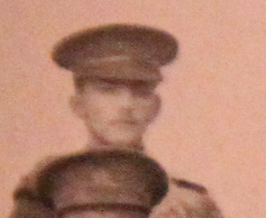Photo of Oscar Kirk– Served with the 35th Battalion CEF. Submitted for the project, Operation: Picture Me