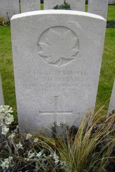 Grave marker– Lijssenthoek Military Cemetery … photo courtesy of Marg Liessens