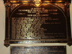 The Royal Ottawa Golf Club plaque– The Royal Ottawa Golf Club erected a plaque honouring its members who gave their lives in the Great War.