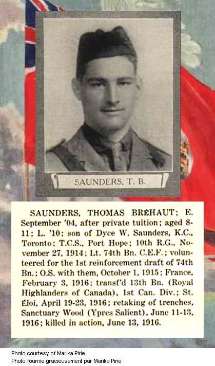 Photo of Thomas Brehaut Saunders