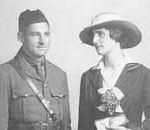 Photo of Thomas Brehaut Saunders– Lt. Thomas B. Saunders and Isobel Taylor Saunders